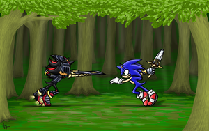 Fight the Knight by Shiny-the-phoenix
