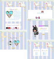Goodnight profile design and coding by UszatyArbuz