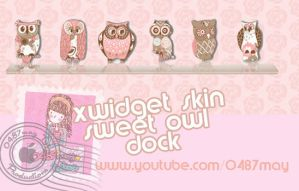 Buhos pink, Xwidget Skin by may0487