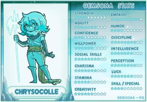 Chrysocolle Stats by Hakunette