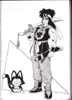 Yamcha and Puar by hotpotofcoffee