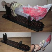 God Of War: Chaos Blade by paperart