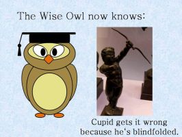 The Wise Owl now knows by Nightwish91