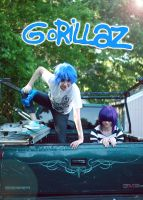 Gorillaz: Summer by Hello-Yuki