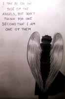 On the side of the angels by gold-blonde