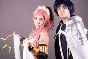 Chrom and Olivia by Amniivg
