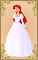 Ariel wedding dress by monsterhighlover3