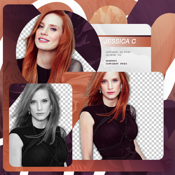 Png Pack 728 // Jessica Chastain by confidentpngs