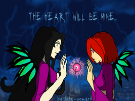 The heart will be mine... by Late-comer
