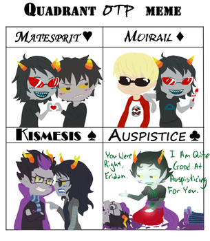 Homestuck Quadrant Meme by Kamden