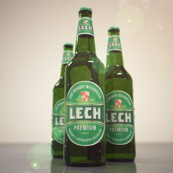 Lech Premium beer by Cerebrate