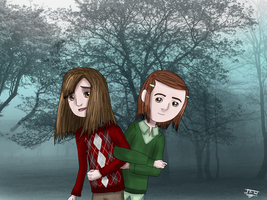 RotG children - Emily and Pippa by JackFrostOverland