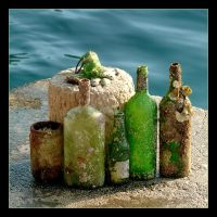 Maritime Mail - Letters In Bottles by skarzynscy