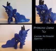 Princess Luna Custom McDonalds Toy- V2 by Darksilverhawk