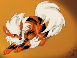 Arcanine by Shinkou-san