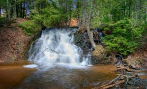 Unnamed Falls HDR2 by jazzkidd