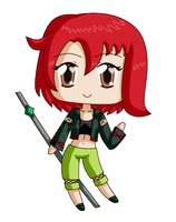 [Commission] Mini chibi Dessie Blink by izka197