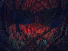 Cave Cocoons by Coolok
