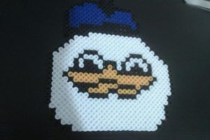 Perler Uncle Dolan by cracklebyte