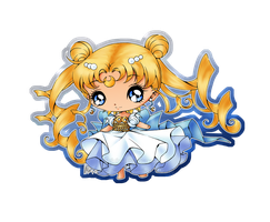 CE: Chibi Sailor Moon Hime by Natsumi-chan0wolf