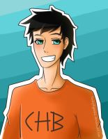 Percy Jackson - My baby(?) by LindcyFiguera