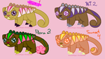 OPEN Adoptable Mamals~ 5-10 Points by ArtisticPages