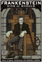 Frankenstein: King of Ghouls by BombsAwayArt