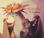 How to train your dragon - Stormcutter Toothles by Maha0129