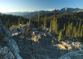 Mount Revelstoke, view from up top by Millsy1