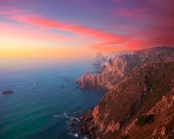 Cabo da Roca at Portugal by humannoyd