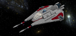 LEGO Star Wars - AdamKop's Incom T-20 H-Wing by Aryck-The-One