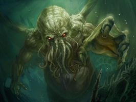 Cthulhu Rises by jhimmelman