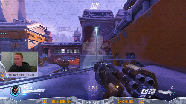 Overwatch Overlay for twitch.tv/mortalous by Xymbiant