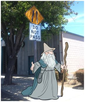 Gandalf. by bloglaurel