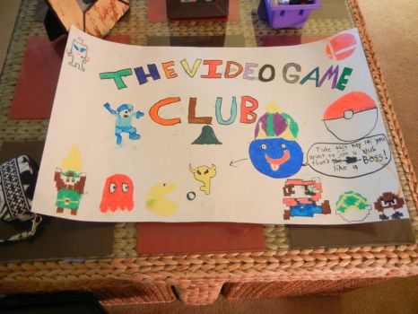 The videogame club poster by GumballUltima