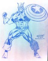 Captain America NYCC 2011 by ScottCohn