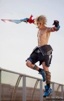 Tidus Final Fantasy Dissidia Cosplay by Leon Chiro by LeonChiroCosplayArt