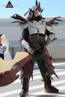 Rathalos Armor Cosplay by Stex85