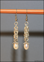 Chainmaille earrings by Gex78