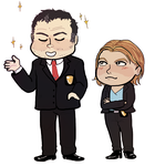 Law and Order: Chibi Intent by beedwise