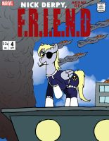 Derpy - Agent of F.R.I.E.N.D by Midnight-Cobra