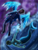 Of the Heavens and the Sea by Aileen-Rose