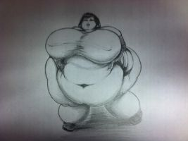 Obese Tifa by Hisano-x