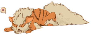 Arcanine by Andiliion