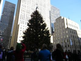 Christmas Tree NYC by hcisme123