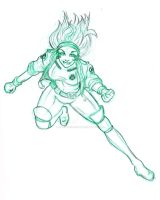 90s Style Rogue by stacey-shikon-uk