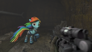 Times with Dashie - In the Tunnel by FD-Daylight