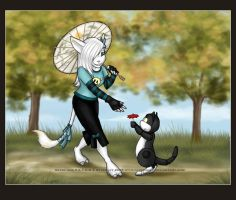 Parasol day by Astrocat