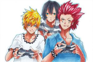 KH: Game by Asterisk-Sky