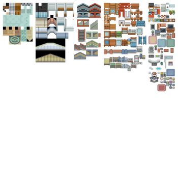Public Indoor Tileset From Public Tiles by ChaoticCherryCake